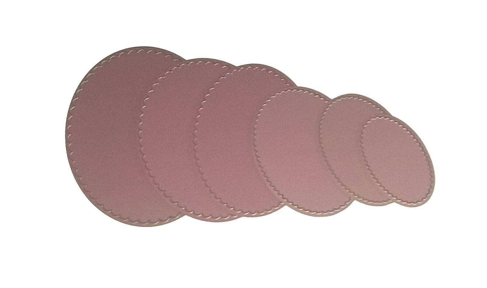 Stacker Dies Scalloped Ovals, Set of 6