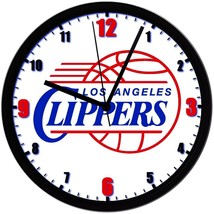 """Los Angeles Clippers LOGO Homemade 8"""" NBA Wall Clock w/ Battery Included - $23.97"""