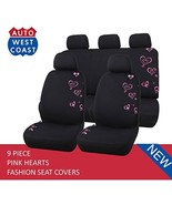 Car Seat Covers Set for Cars, Trucks, Vans, SUV - Airbag Compatible (Pol... - $129.99+