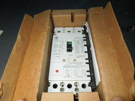GE Record Plus FCN36TE015R2 15A 3P 600V Circuit Breaker Load Side Lugs Surplus - $500.00