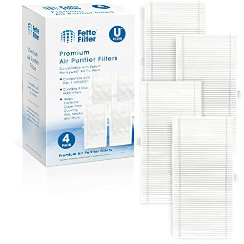 Fette Filter 4 Pack of HEPA Air Filter Compatible with Febreze FRF101B & Honeywe
