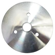 Chevy Small Block Short Water Pump Single-Groove Aluminum Crankshaft Pulley image 2