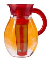 Primula The Big Iced Tea Maker - 1 Gallon Beverage Pitcher, Red - $48.72