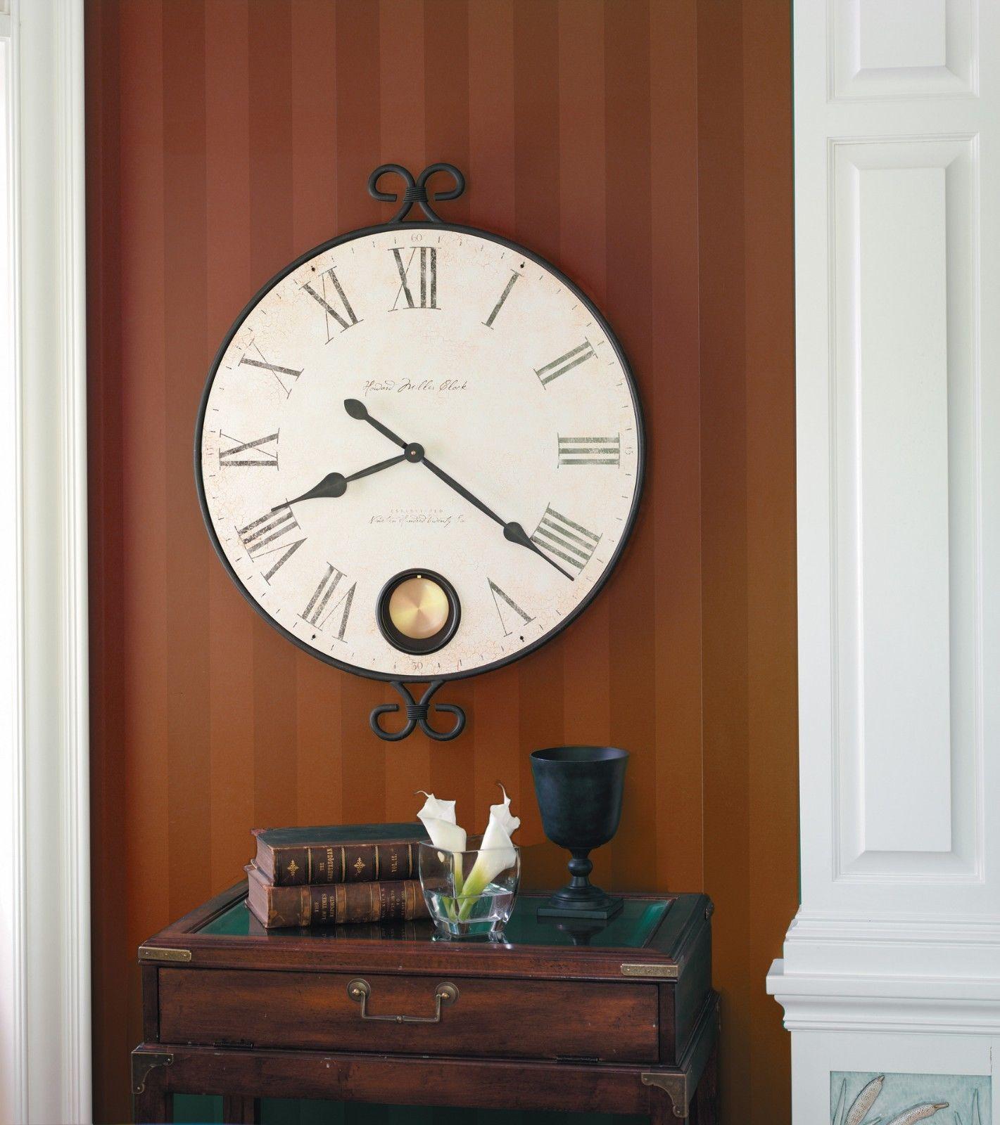 JENKINS-HOWARD MILLER TWO SIDED SOFA TABLE MANTEL CLOCK 635-155