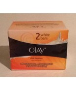 NewInPkg Olay White Bars Ultra Moisturizing Shea Butter 2 Pack 4.25 Oz Each - $11.60
