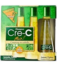 Shampoo Cre-c Max (6 Bottles- 2 Kits) 100% Natural - $69.95