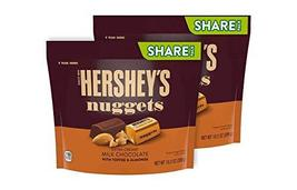 Hershey's Nuggets Milk Chocolate w/ Toffee and Almonds (Pack of 4) - $39.99