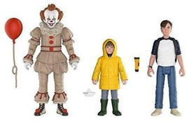 Funko Action Figures: IT Pennywise, Georgie, and Bill (3-Pack) - $23.09
