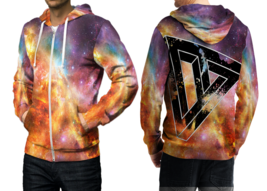 illusion  3D Print Hoodies Zipper   Hoodie Sweatshirt for  men - $49.80