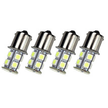 4Pack White 1156 13-SMD RV Camper Trailer LED Interior Light Bulbs 12V S... - $4.96