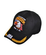 Acrylic Ball Cap.  If You Love Your Freedom, Thank a Vet - $11.99