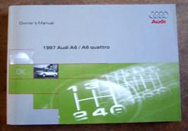 1997 Audi A6 Quatro Owners Manual Parts Service - $29.99