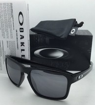 New OAKLEY Sunglasses SLIVER OO9262-04 Polished Black Frame Black Iridium Lenses
