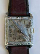 Warwick antique art deco foldable case 15 jewels swiss watch - $298.15 CAD