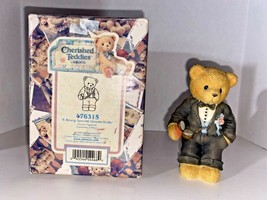 """Cherished Teddies """"A Beary Special Groom-To-Be"""" Figurine - $19.99"""