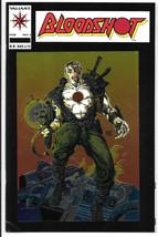 Bloodshot #1 VF/VF+ 1993 Valiant Comics Key issue Movie Foil cover Barry... - $2.96