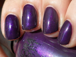 Sephora by OPI JUST A LITTLE DANGEROUS Purple Shimmer Nail Polish Lacque... - $6.91