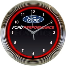 "Ford Performance Car Dealer Light 15"" Neon Clock - $69.00"