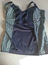 Tommy Bahama Active Under Wire Neck Tankini Size Medium image 1