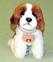 "12"" ST. BERNARD RESCUE DOG PLUSH 2013 TOYS R US SWISS CROSS BARREL STUFF... - $21.78"