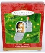 Hallmark Keepsake Christmas Ornament Friendly Greeting Hedgehog Mailbox ... - $17.51