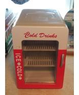 Coca Cola Mini Thermoelectric Cooler & Warmer Coke Mini Fridge Auto Home - $48.46