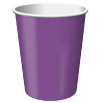 Purple 9oz Party Cups (24) - $7.99