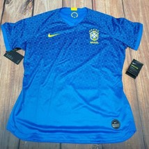 Nike Brasil 2019 Stadium Jersey Away Soccer Football Womens L $90 AJ4389-453 - $39.55