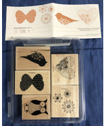 Stampin Up! - Punch Potpourri - Rubber Stamp Set - NEW UNUSED - Hostess Set - $8.90