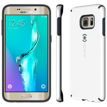 Speck Products CandyShell Case for Samsung Galaxy S6 Edge+, White/Charcoal - $8.90