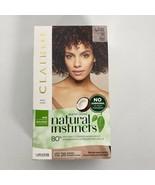 Clairol Natural Instincts Ammonia Free 4RR Dark Red Hair Dye Lasts 28 Wa... - $11.74