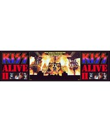 KISS Band 24 x 86 Alive II Full Stage Custom Banner Style Poster - Rock ... - $75.00