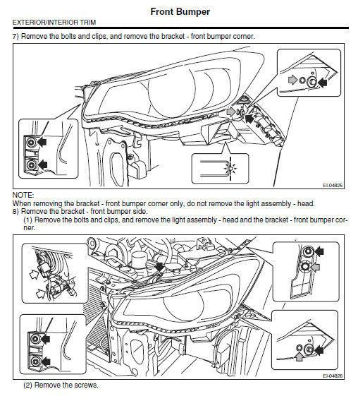 2015 Subaru Xv Crosstrek Workshop Oem Service Repair