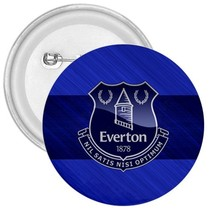 Everton England Football Soccer Team Logo Rubber 3 Inch Refrigrator Magn... - $5.99