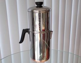Vintage Revere Ware Drip-O-Later Percolator Coffee Pot Copper Clad - $74.00