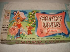 VINTAGE 1955 CANDY LAND BOARD GAME - $29.99
