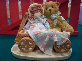 Cherished Teddies Molly 1992 Priscilla Hillman - Hamilton Gifts Friendship - $8.90