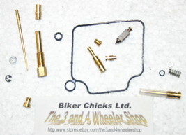 HONDA 2004-07 TRX400 Rancher FA/ FGA Carburetor Carb Rebuild Repair Kit ... - $28.33