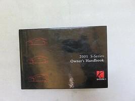 2001 Saturn S Series Owner's Handbook Manual OEM Factory Dealership Work... - $7.09