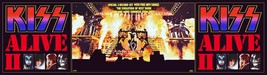 KISS Band 24 x 86 Alive II Full Stage Custom Banner Style Poster - Rock ... - $85.00