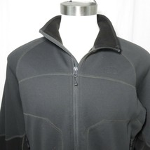 The North Face Stealth Byron Full Zip Fleece Jacket Black Mens XL - $98.95