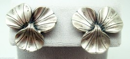 La Paglia International Sterling Leaf Earrings (#3101) - $128.25