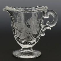 Fostoria Camellia Creamer and Sugar Set Elegant American Glass image 2