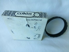 Cokin A Series 263 Adapter Ring Zoom Canon 35/70 old stock new - $5.86