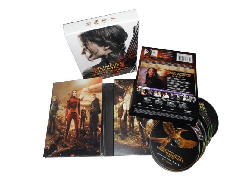 The Hunger Games Complete 1-4 Film 8 DVD Dsic Box Set Free Shipping New