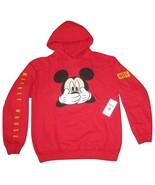 Neff DISNEY Men's UH OH MICKEY  MOUSE Po Hoodie PULL OVER RED HOODY Md M... - $64.99