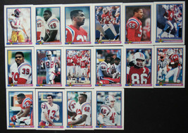 1991 Bowman New England Patriots Team Set of 16 Football Cards - $5.00