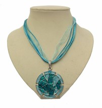 Statement Necklaces For Women Blue Necklaces Blue Jewellery 13235  - $19.59