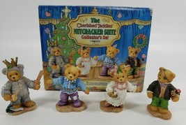 New Cherished Teddies Nutcracker Suite 272388 Collector's Set Limited Ed... - $69.30