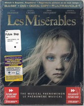 Les Miserables Future Shop Canada Blu-Ray + DVD + Digital Copy + Ultravi... - $39.98